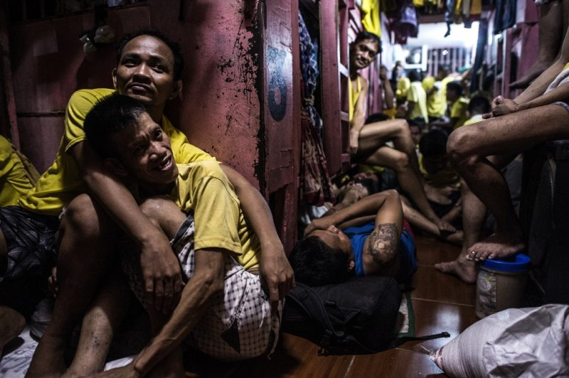 """Quezon City jail"" / Noel Celis – Agence France-Presse 《奎松市監獄》/ Noel Celis – 法新社"