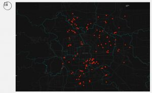 Merit, Multimedia (Chinese): Data visualized: The impact of Beijing's eviction of the 'low-end population' Danielle Wang, Victoria Jin and Xu Xiaotong of Initium Media