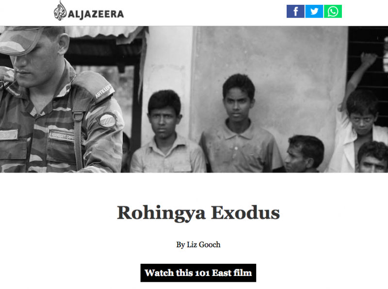 101 East: The Rohingya exodus, by Drew Ambrose of Al Jazeera English