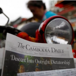 Cambodia's Crackdown: What happens when an autocrat shutters a newspaper, by Julia Wallace of The Nation