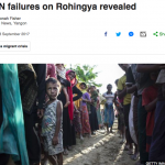 How the United Nations in Myanmar failed the Rohingya, by Jonah Fisher of BBC News