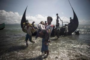 People's Choice Photo Award_Unwanted in Myanmar, Unwelcome in Bangladesh, by Fred Dufour, AFP