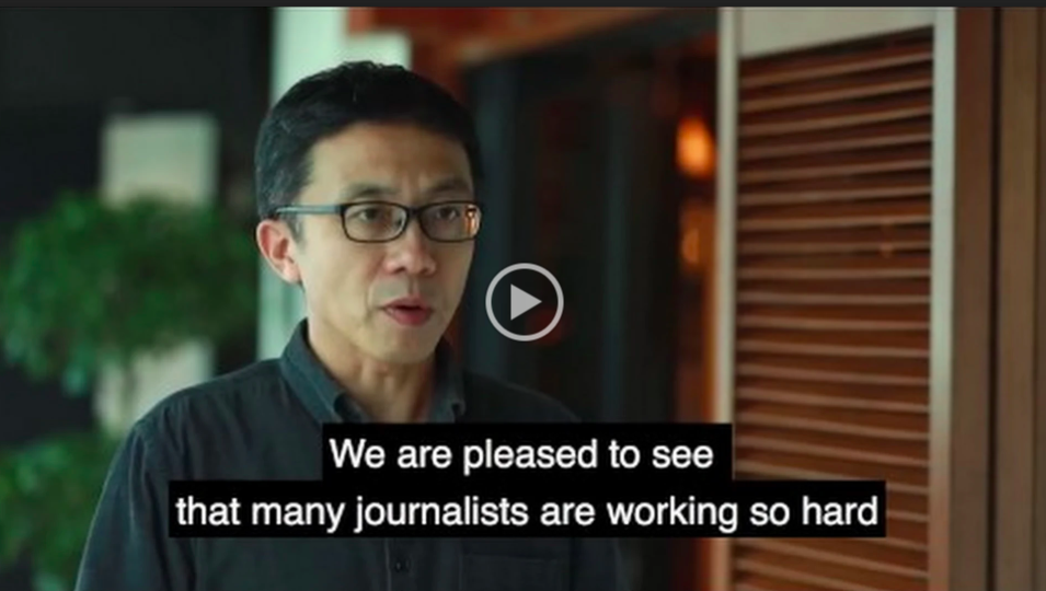VIDEO: Human Rights Press Awards judges on the importance of reporting