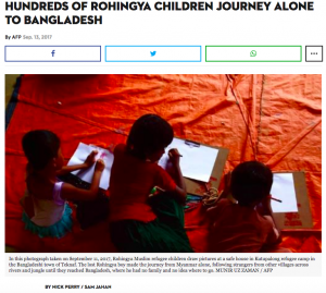 Unwanted in Myanmar, unwelcome in Bangladesh Sam Jahan, Nick Perry, Redwan Ahmed and Claire Cozens of AFP