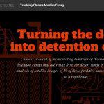 Tracking China's Muslim Gulag by Philip Wen, Olzhas Auyezov, Thomas Peter, Christian Inton and Simon Scarr of Reuters