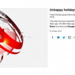 Unhappy Holidays by John Sudworth, Kathy Long, Lily Lee and Wang Xiqing of BBC News