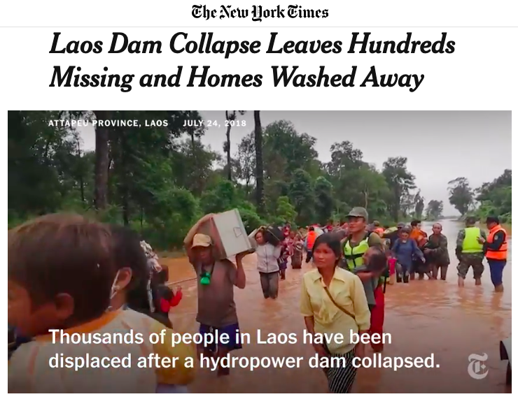 Series: Laos Dam Collapse