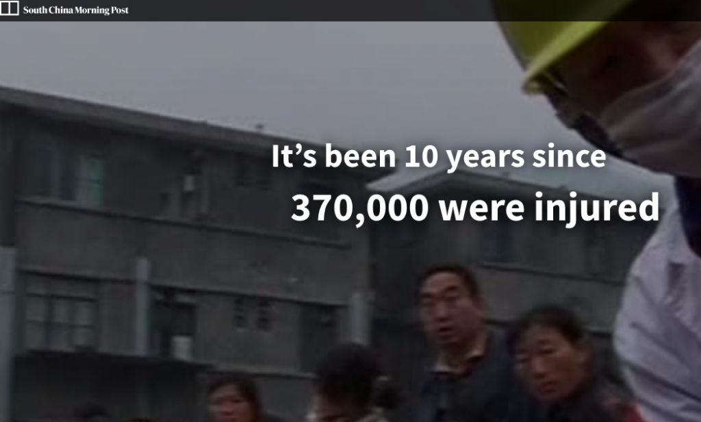 Sichuan Earthquake, 10 Years On: How a Tragedy Changed China